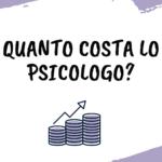 Quanto costa lo psicologo?