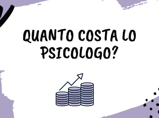 quanto costa lo psicologo