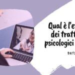 Le consulenze psicologiche a distanza sono efficaci?