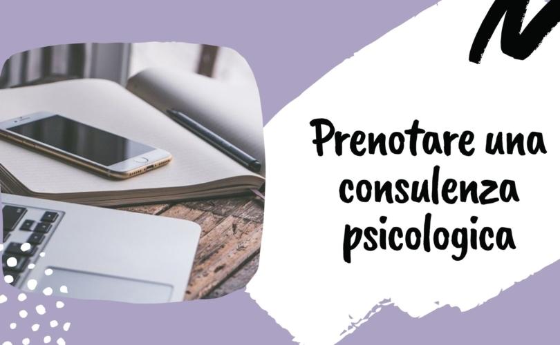 Prenotazione consulenza psicologica