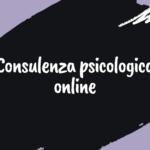 Consulenza psicologica online